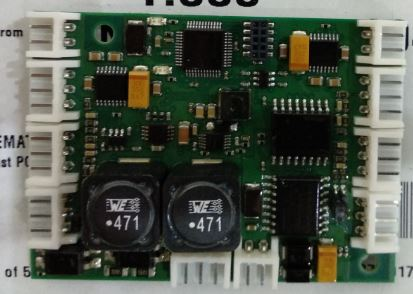 CONTROL BOARD, DMS FINGER, PCB 63mm X 46mm
